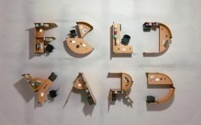 Трехмерная типографика Бенуа Шаллана