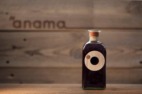 Концепт упаковки особенного вина 'Anama Vintage 2010