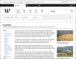 Концепт редизайна Википедии