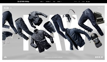 gstar-raw-website-design
