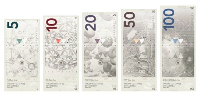 Концепт нового дизайна долларов