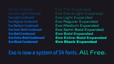 Exo Condensed & Expanded