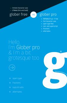 Glober Free Font