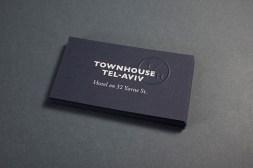 07-Townhouse-Tel-Aviv-Blue-Card-Business-Cards-Blind-Emboss-Koniak-on-BPO