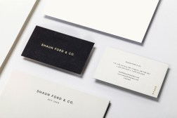 Gold-Foil-Business-Card-Shaun-Ford-by-Savvy-on-BPO