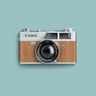 Cерия иконок ретро фотоаппаратов от дизайн-студии Анкоридж