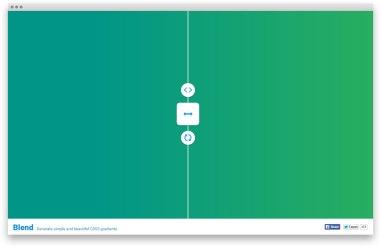 Blend — симпатичные CSS3-градиенты