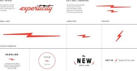 Новый логотип и фирменный стиль Experticity