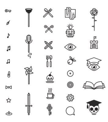 Система графических элементов для книжного магазина RESPUBLICA UNIVERSITY