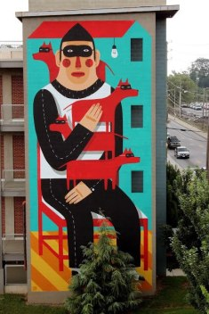 10 примеров масштабной настенной росписи