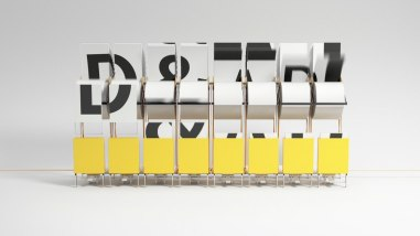 Заставка для D&AD Awards 2014 (престижная премия в области дизайна и рекламы)