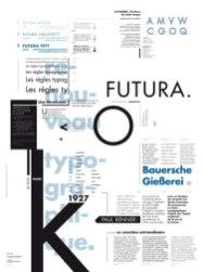 Плакаты, презентующие великие шрифты