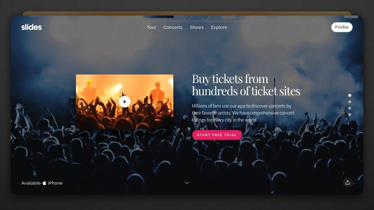 Designmodo выпустили Slides — инструмент для создания презентационных сайтов