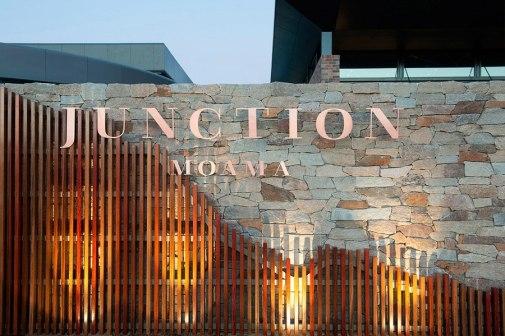 Фирменный стиль австралийского ресторана Junction Moama