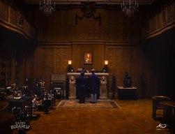 Мэт-пэйнтинг для фильма «Отель Гранд Будапешт»