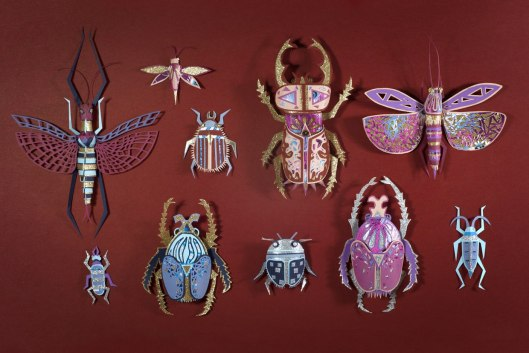 Zim And Zou — крутая французская студия, которая делает предметы и инсталляции из бумаги, кожи и пластилина.