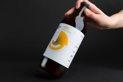 Интересный концепт упаковки пива Good Chemistry