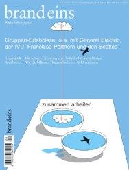 Обложки журнала brand eins, созданные в немецкой студии Meiré und Meiré