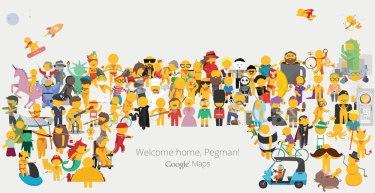 Новый человечек на картах Google