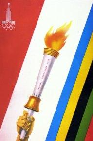 Конкурс плакатов. XXII Олимпийские игры. Выпуск № 6.