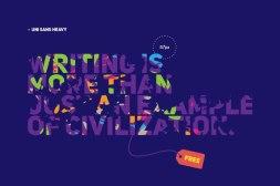 Бесплатный кириллический шрифт Uni Sans