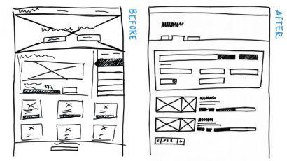 12 приёмов рисования хороших эскизов сайтов и интерфейсов