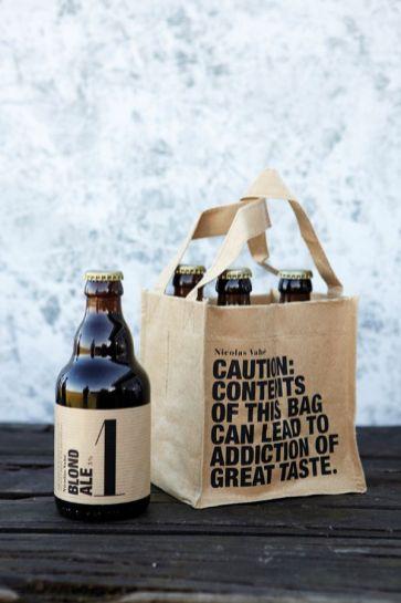 Типографика в дизайне пивных бутылок. 7 примеров.