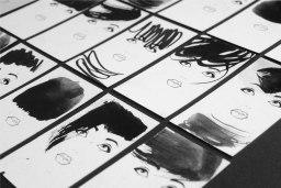 Визитка для визажиста-парикмахера