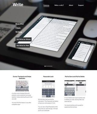 8 свежих посадочных страниц с хорошим дизайном