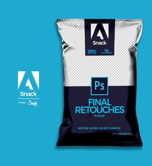 Забавный концепт Adobe Snack