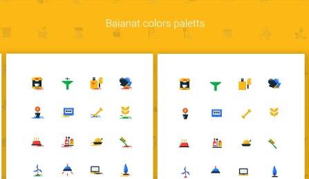 Бесплатный набор из 1000 великолепных иконок (AI, SVG, PSD, PNG, .sketch)