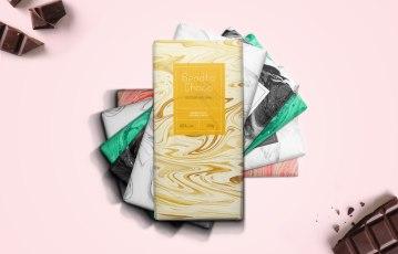 Концепт упаковки шоколада Bendito Choco