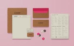Фирменный стиль, упаковка и интерьер магазина Юген