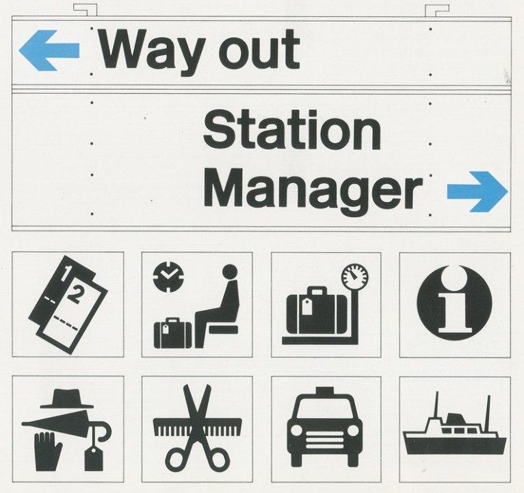 Логотип Британской железной дороги: истоки
