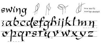 307 образцов каллиграфических почерков