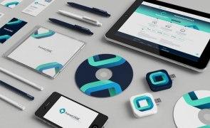 Новый бренд польской компании frameLOGIC. Дизайнер Necon @ behance.