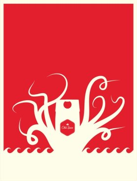Old Spice Packaging and Posters by Landor