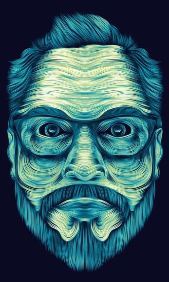Иллюстрации Патрика Сеймура. Необычная и выразительная техника.
