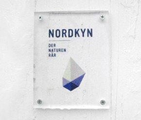 Логотип и стиль кампании «Посетите Нордкин»