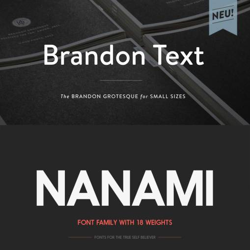 10 лучших шрифтов 2013 года по версии блога Betype