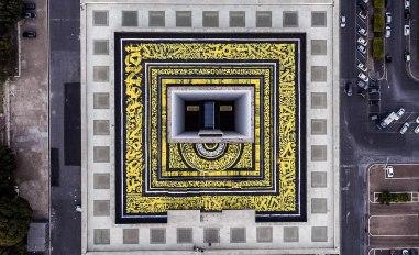 Самая большая каллиграфия в Италии