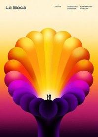 10 свежих и ярких постеров с Баубаухауса