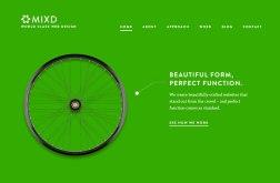 Сайт студии MIXD