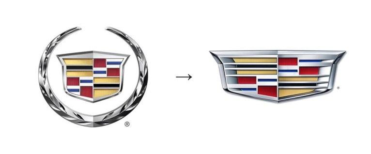 У Кадиллака новый логотип