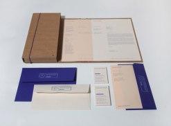 Фирменный стиль дизайн-бюро Passport. Выполнен в рамках студенческого проекта.