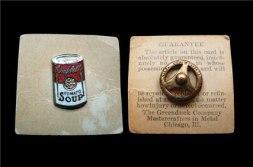 Металло-эмалевые значки 20-го века