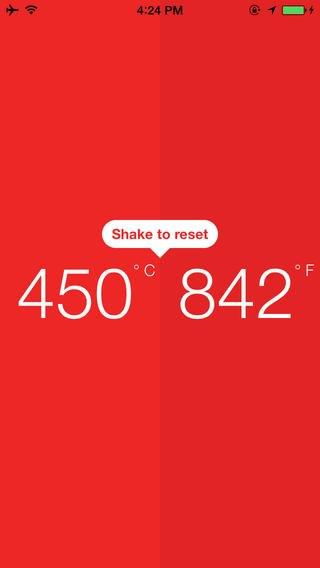 D°grees — минималистский конвертер температур