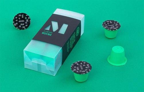 Фирменный стиль кофейных капсул для кофе-машин «Моккато»