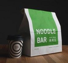 Фирменный стиль для ресторанов быстрого питания MaryWong