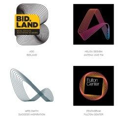 15 актуальных трендов в логотипах